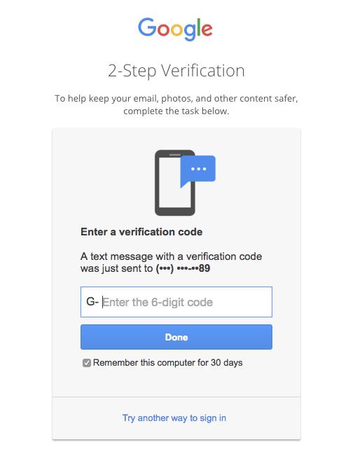 Google Inbox web app