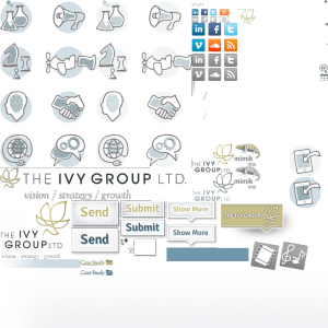 40-image sprite for The Ivy Group