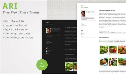 Ari WordPress Theme