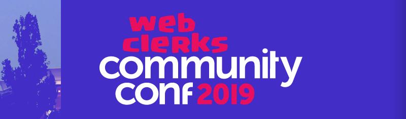 Webclerks Community Conference 2019