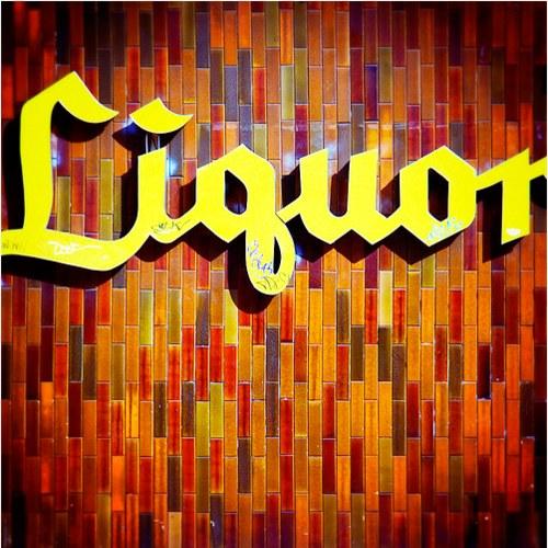 Vintage Signage - liquor. santa monica, ca. 2006