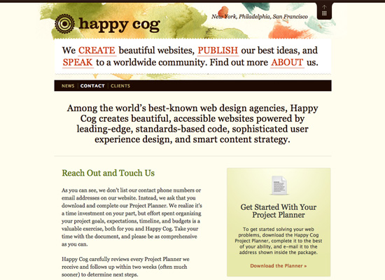Web Design Questionnaires, Project Sheets and Work Sheets — Smashing ...