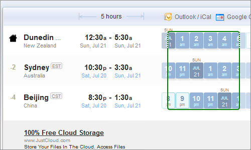 WorldTimeBuddy: A sync tool for scheduling meetings