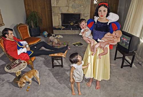 Fallen Princesses - Dina Goldstein