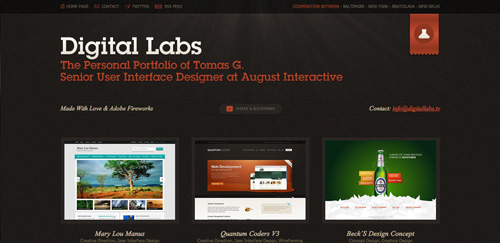 Digital Labs Portfolio