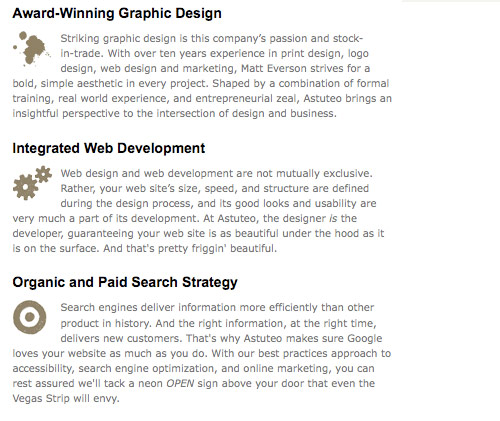 How To Use Icons To Support Content In Web Design Smashing Magazine