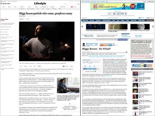 News Story Comparison