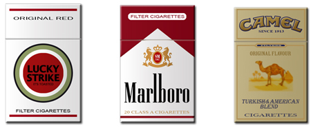Free Icon Sets - cigarettes packet