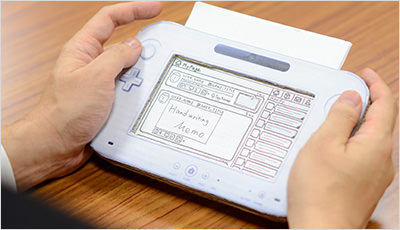 Designers in companies such as Nintendo use low-fidelity prototyping.