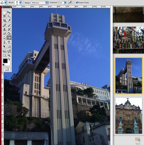 iPhoto to Photoshop Screenshot