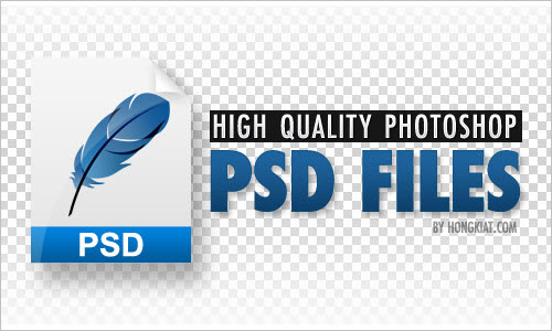 60 High Quality Photoshop PSD Files For Designers