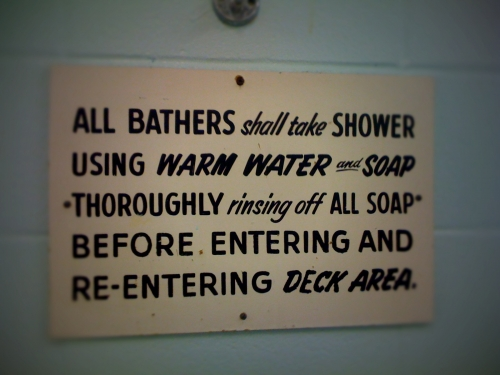 Wayfinding and Typographic Signs - allbathers