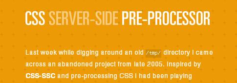 CSS-Technique
