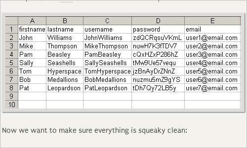 Importing WordPress Users via CSV Files