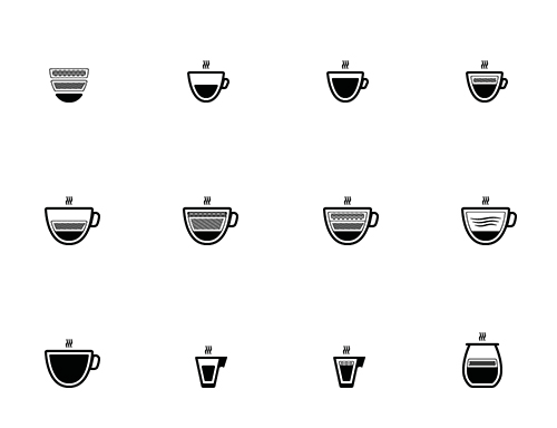 Freebie Barista Coffee Icon Set 50 Icons EPS PNG SVG