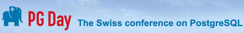 Swiss PGDay 2020