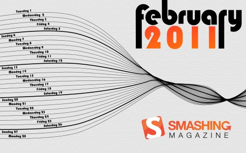 Smashing Wallpaper - February 2011