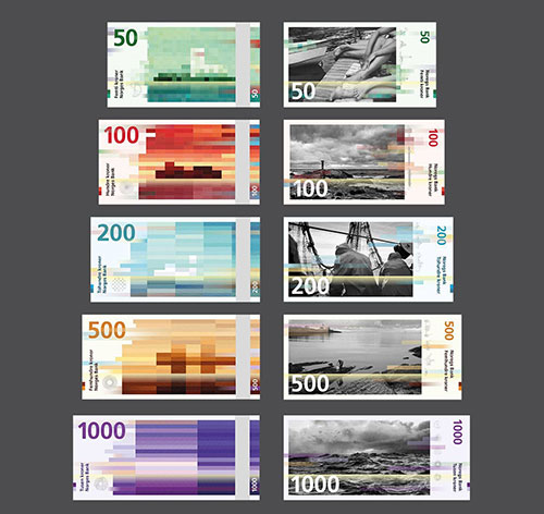 The New Norwegian Kroner Design by Snohetta