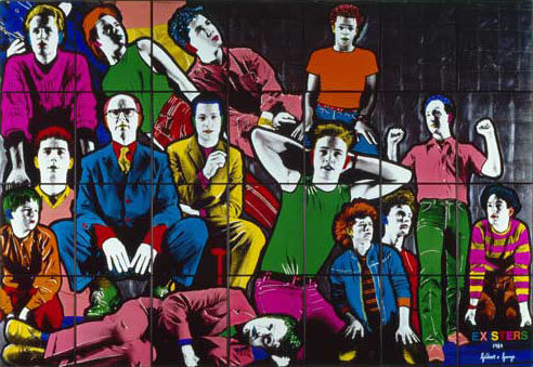 Gilbert and George, 'Existers'