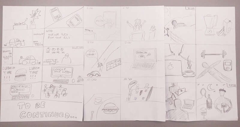 storyboard exercise