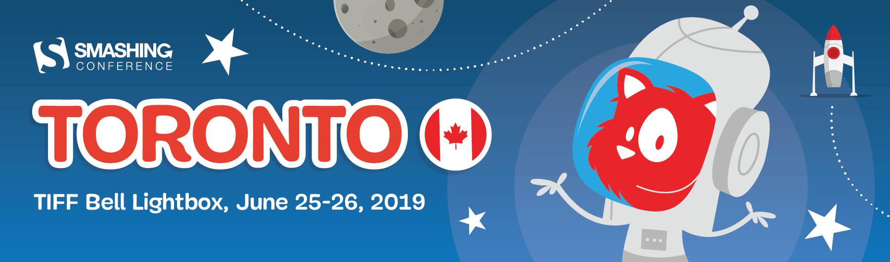 SmashingConf Toronto 2019