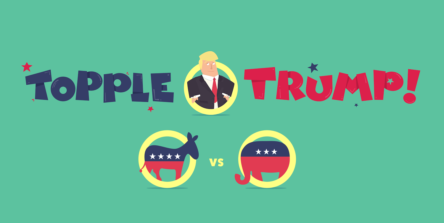 """Building """"Topple Trump"""", An Interactive Web-Based Quiz Game (Case"""