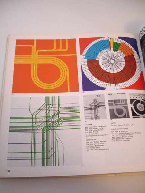 Swiss Graphic Design - Graphis Diagrams –– 1974
