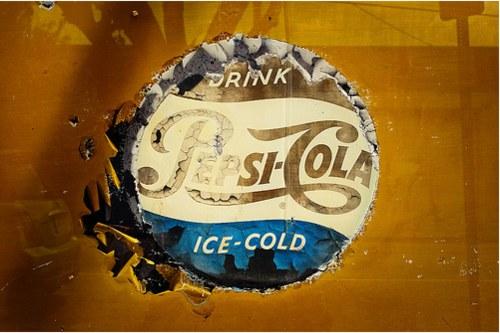 Vintage Signage - Ice-Cold