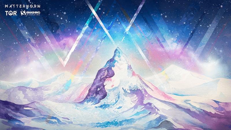 Christmas Wallpaper — The Matterhorn