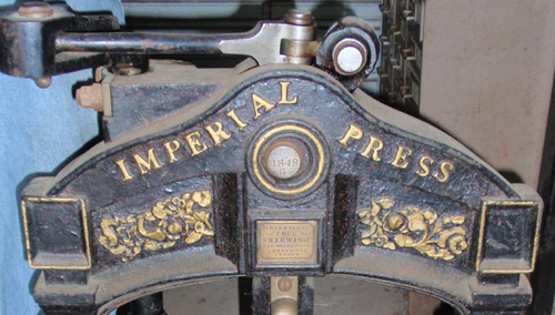 The 1848 Imperial Press.