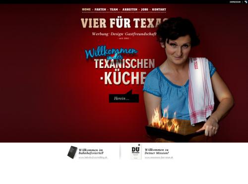 German Web Design - vier für texas *ideenwerk