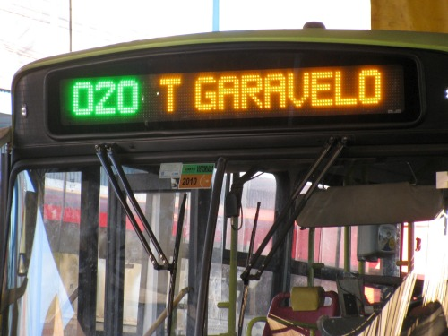 Wayfinding and Typographic Signs - bus-itinerary-in-goiania