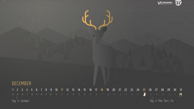 Christmas Wallpaper — December Darkness