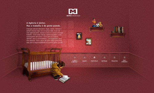 Showcase of Unusual Layouts - MATRIZ COMUNICAO