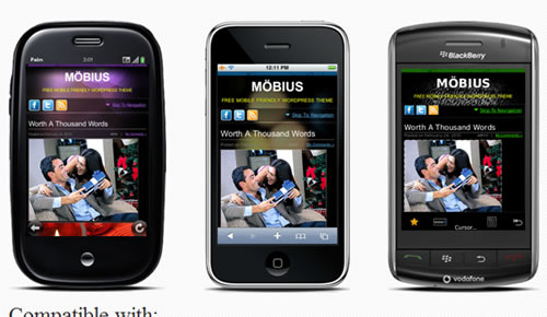 Möbius - Mobile Friendly WordPress