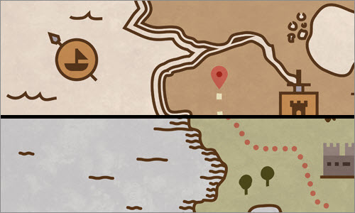 Google Treasure Maps: About the design process