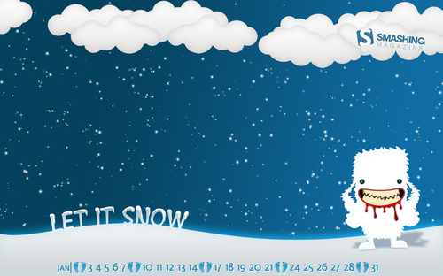 snow desktop wallpaper