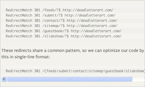 Optimizing WordPress Permalinks with htaccess