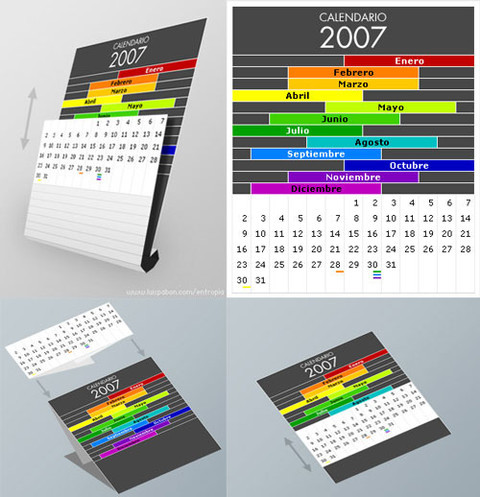 creative calendar designs smashing magazine