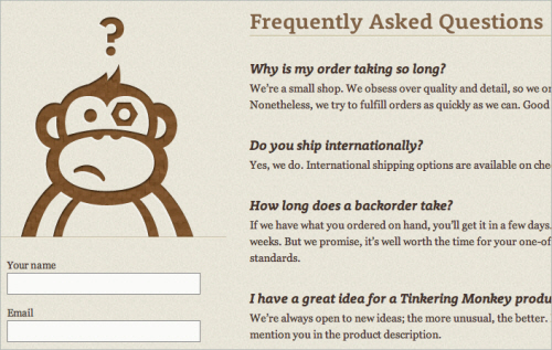 25tinkering in Best Practices of Web Form Design