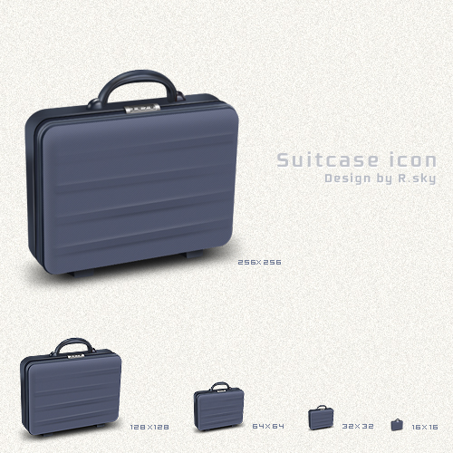 Free Icon Sets - suitcase icon