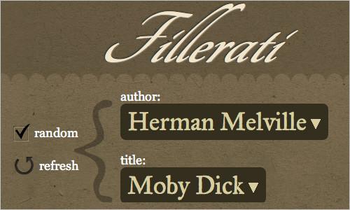 Fillerati - Faux Latin is a Dead Language