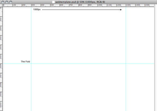 Photoshop template file