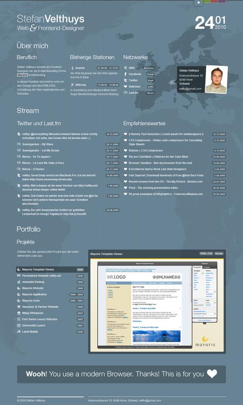 German Web Design - stefan velthuys - web & frontend-designer