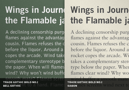 Best Practices Of Combining Typefaces — Smashing Magazine