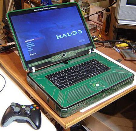 Laptop Designs - TechEBlog » PICTURE: Amazing Xbox 360 Elite Laptop