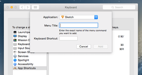 Select Sketch in the dropdown menu of applications