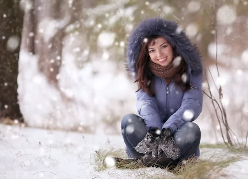 Snow in photoshop is easy using the free steps this tutorial.