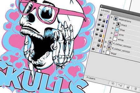 Illustrator brushes high-end tshirt design tutorial youtube.