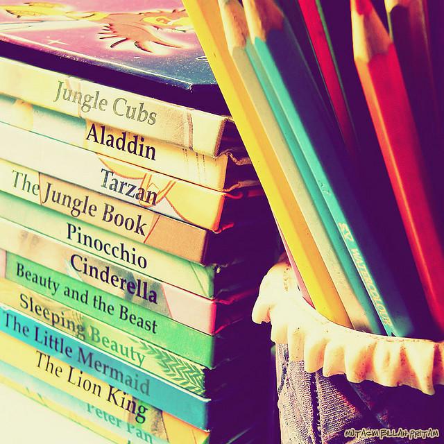 Fairy tale storybooks